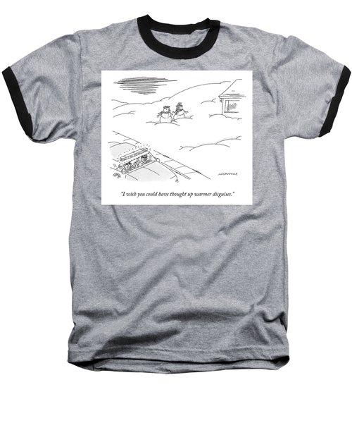 Warmer Disguises Baseball T-Shirt