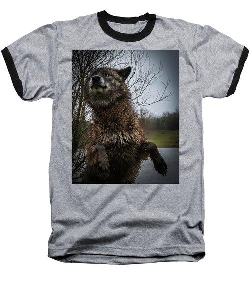 Watch The Eyes Baseball T-Shirt
