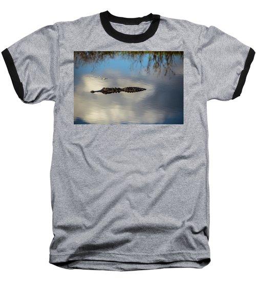 Watery Predator Baseball T-Shirt