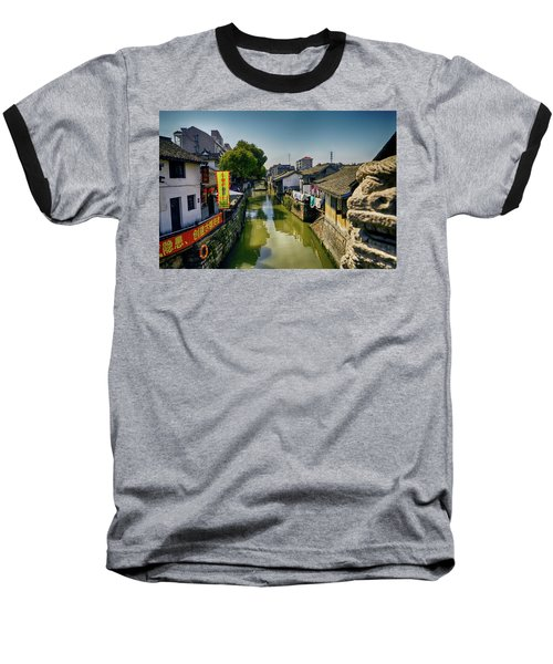 Water Village Baseball T-Shirt