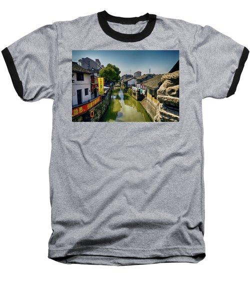 Water Village Baseball T-Shirt