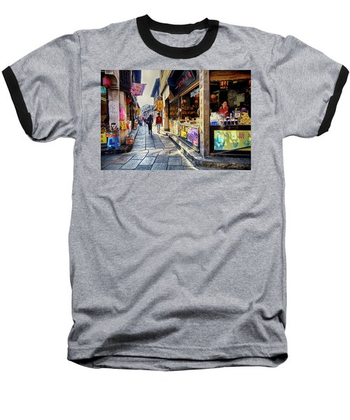 Water Village II Baseball T-Shirt
