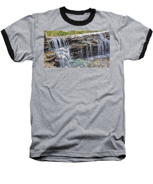 Waterfall @ Sharon Woods Baseball T-Shirt