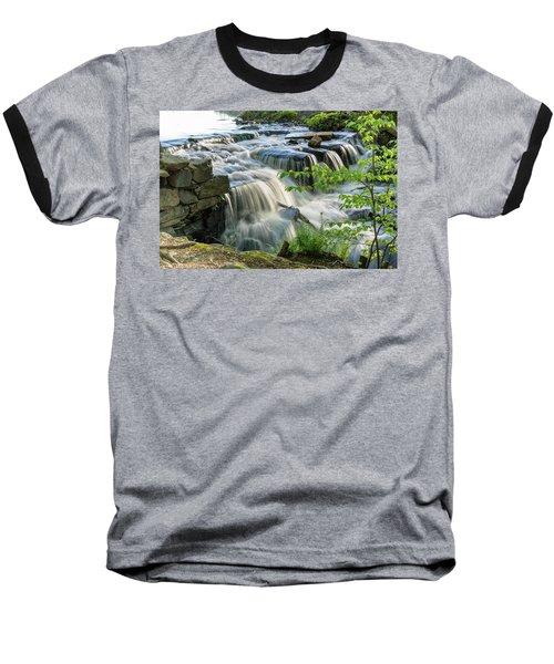 Waterfall At The Old Mill  Baseball T-Shirt