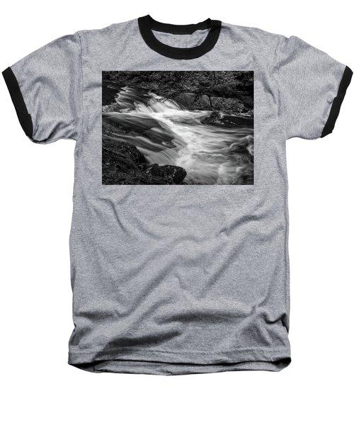 Waterfalls At Ricketts Glenn Baseball T-Shirt