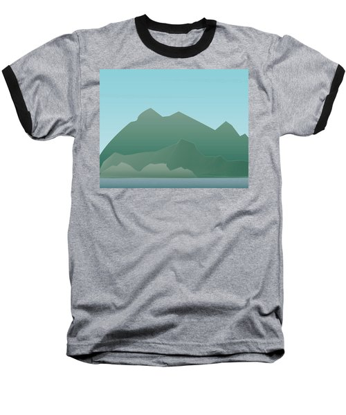 Wave Mountain Baseball T-Shirt