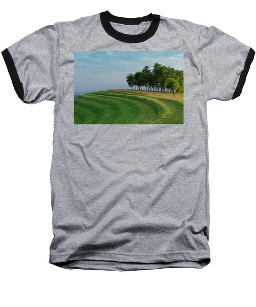 Waves Of Grass Baseball T-Shirt