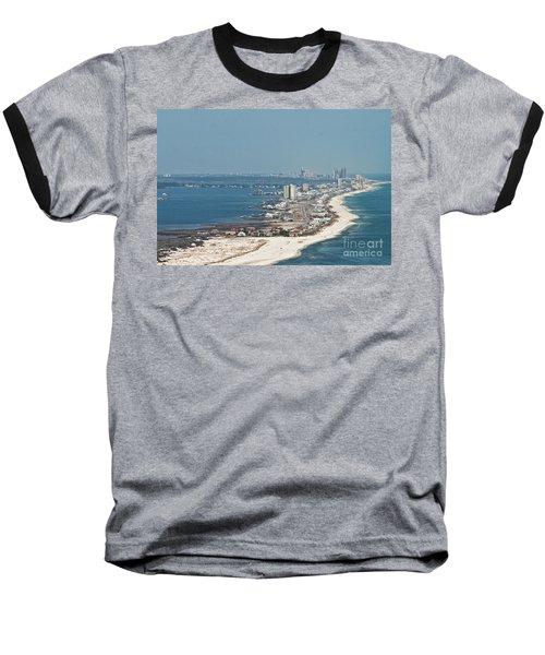 West Beach-1 Baseball T-Shirt