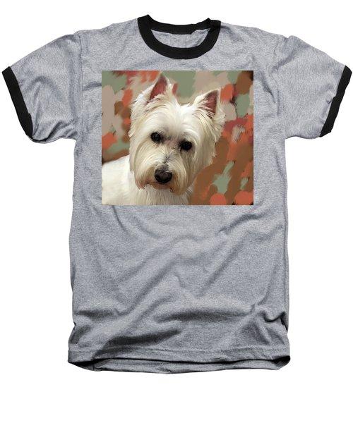 West Highland Terrier Baseball T-Shirt