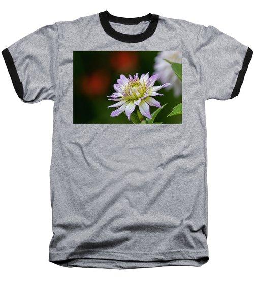 Wet Petals Dahlia Baseball T-Shirt