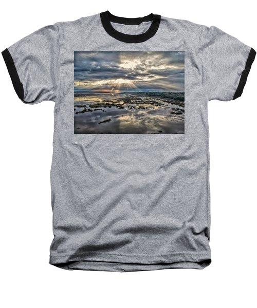 Whale Branch - Angel Rays Baseball T-Shirt