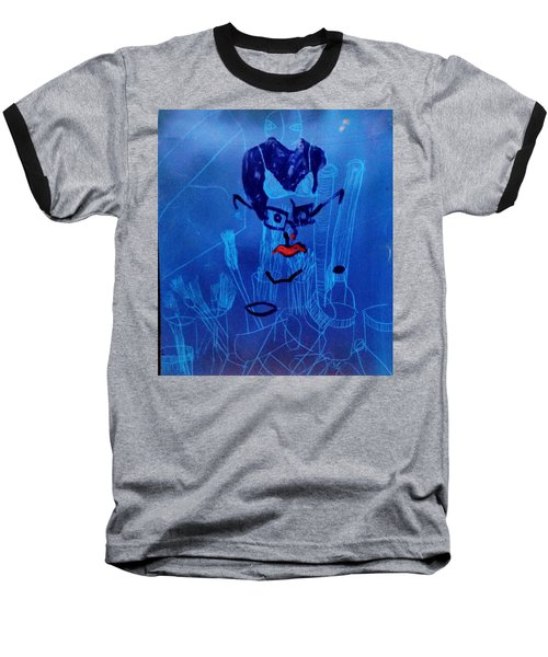 When His Face Is Blue For You Baseball T-Shirt