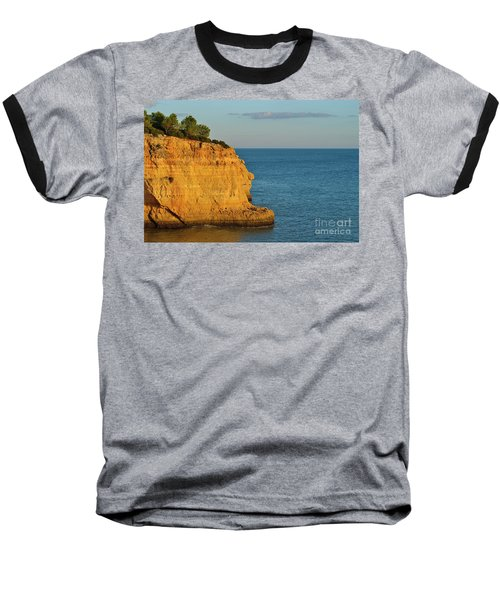 Where Land Ends In Carvoeiro Baseball T-Shirt