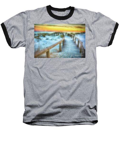 Where The Path Leads Baseball T-Shirt