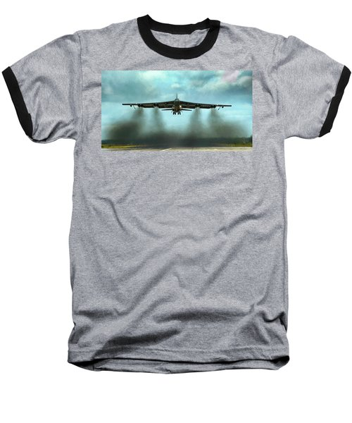 Where There's Smoke There's Firepower Baseball T-Shirt