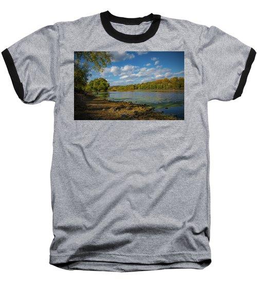 Baseball T-Shirt featuring the photograph Where Washington Crossed by Lora J Wilson