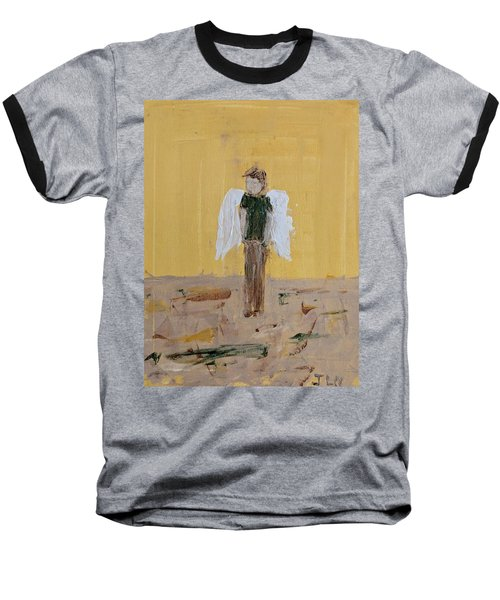 Whistling Angel Baseball T-Shirt