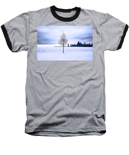 Baseball T-Shirt featuring the photograph White Dream by Milena Ilieva