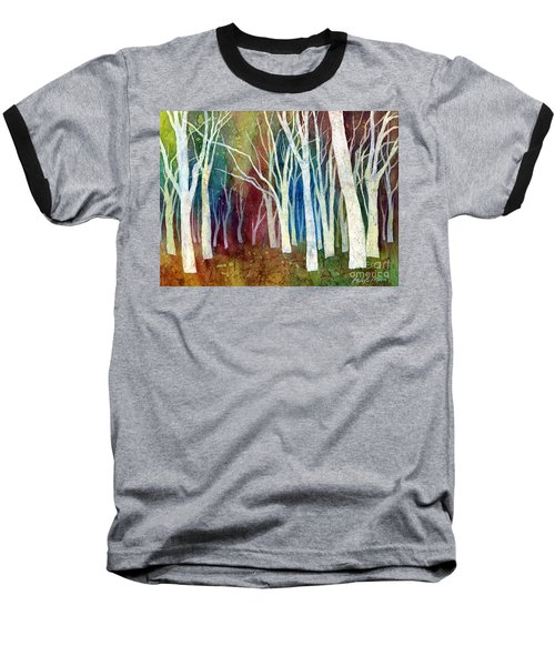 White Forest I Baseball T-Shirt