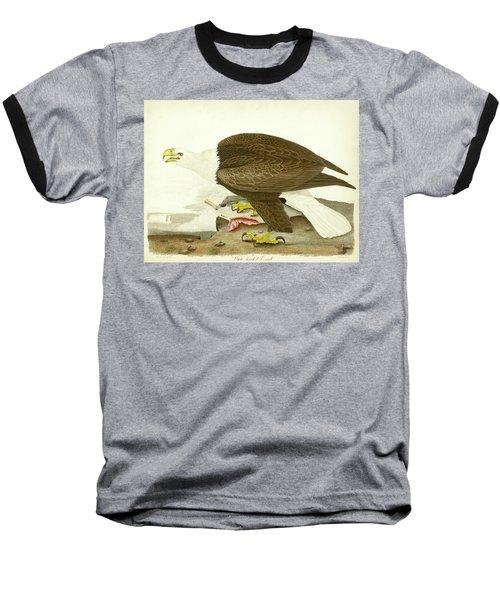 White-headed Eagle Baseball T-Shirt