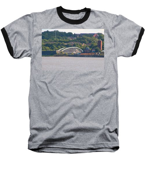 Wigg Island Swingbridge Baseball T-Shirt