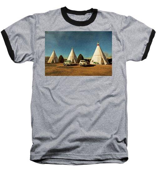 Wigwam Hotel Baseball T-Shirt