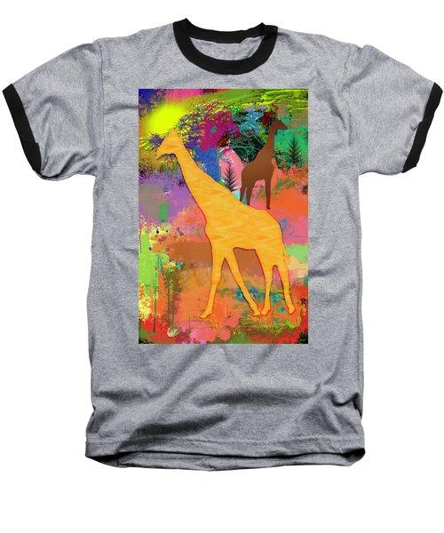 Wild Africa Baseball T-Shirt