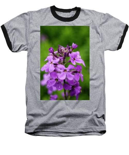 Wild Flowers In The Forest Baseball T-Shirt