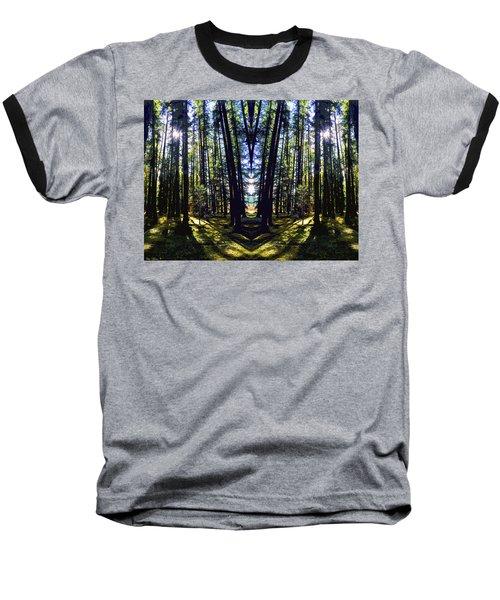 Wild Forest #1 Baseball T-Shirt