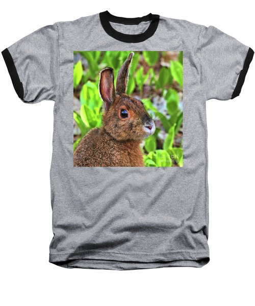 Wild Rabbit Baseball T-Shirt