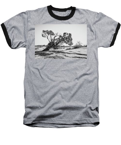 Baseball T-Shirt featuring the photograph Will To Survive by Andy Crawford