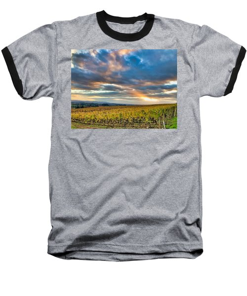 Willamette Valley In Fall Baseball T-Shirt