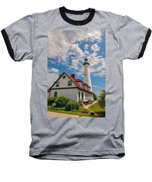 Wind Point Lighthouse No. 2 Baseball T-Shirt