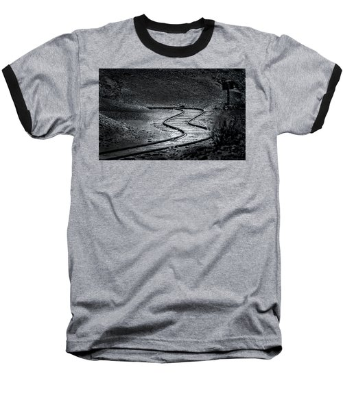 Winding Road Ahead Baseball T-Shirt