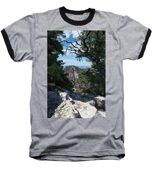Window View Baseball T-Shirt