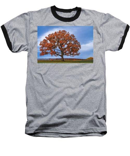 Wine Time Baseball T-Shirt