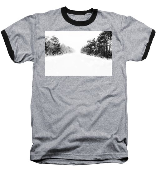 Winter Afternoon Baseball T-Shirt