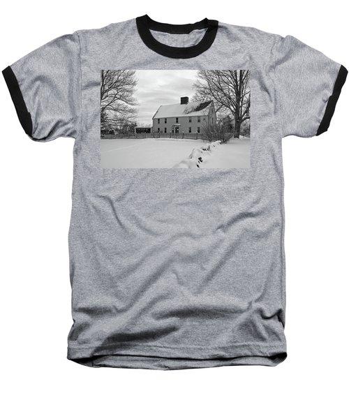 Winter At Noyes House Baseball T-Shirt