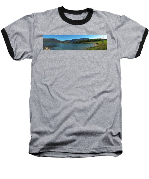 Winter Beach In Norway Baseball T-Shirt
