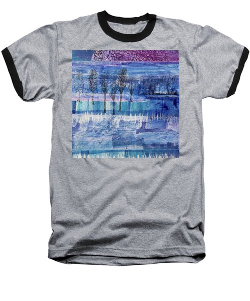 Winter Blues 1 Baseball T-Shirt
