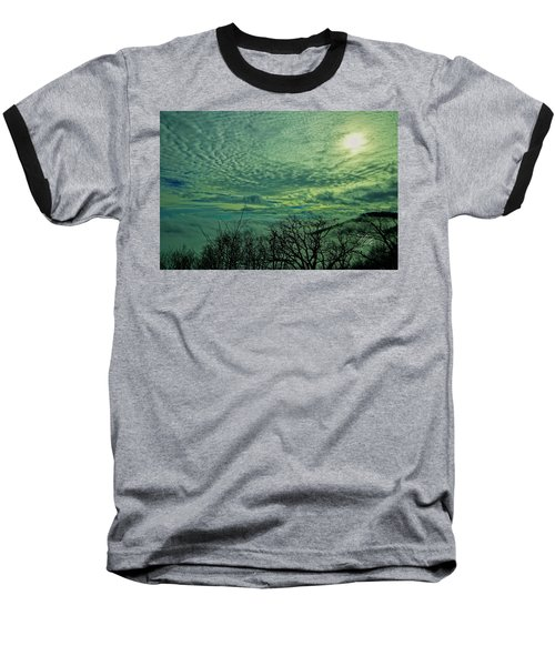 Winter Clouds Baseball T-Shirt