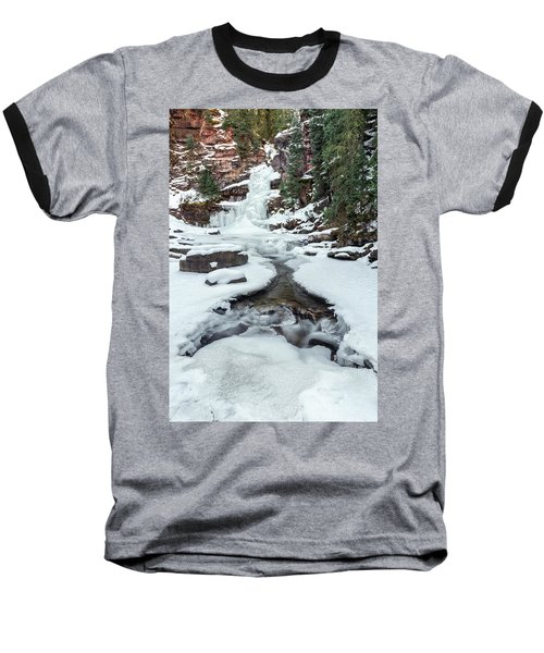 Winter Falls Baseball T-Shirt