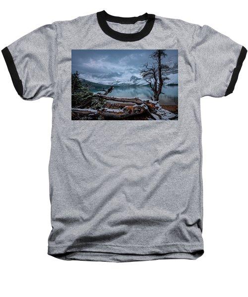 Winter Is Coming Bow Lake Baseball T-Shirt