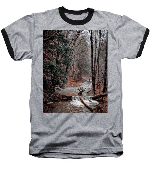 Winter Woods Baseball T-Shirt