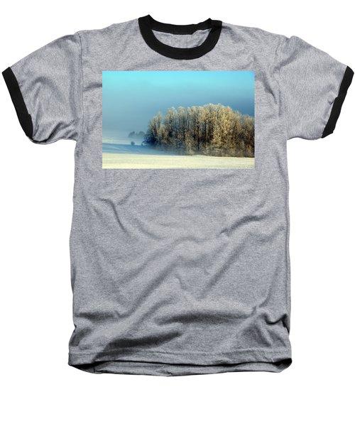 Winter's Heavy Frost Baseball T-Shirt