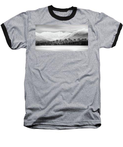 Winterscape Vancouver Baseball T-Shirt
