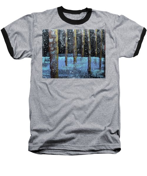 Wintry Scene I Baseball T-Shirt