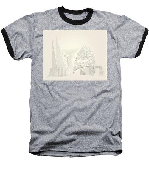 Wire Folly Complex Baseball T-Shirt