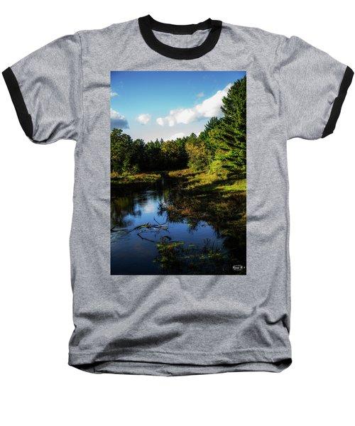 Wisconsin Waterscape Baseball T-Shirt