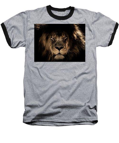 Wise Lion Baseball T-Shirt
